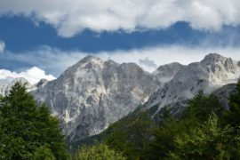 поход по горам Албании