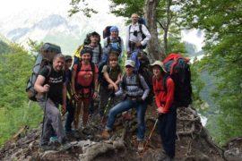 Албания поход по Динарским Альпам