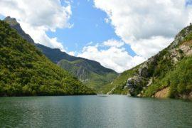 Динарские Альпы, озера Коман Албания