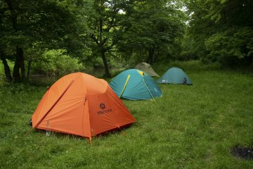 Поход с палаткими по Товтрам