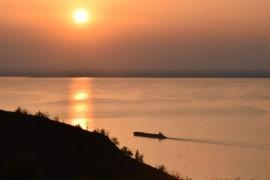 Закат в Трахтемирове