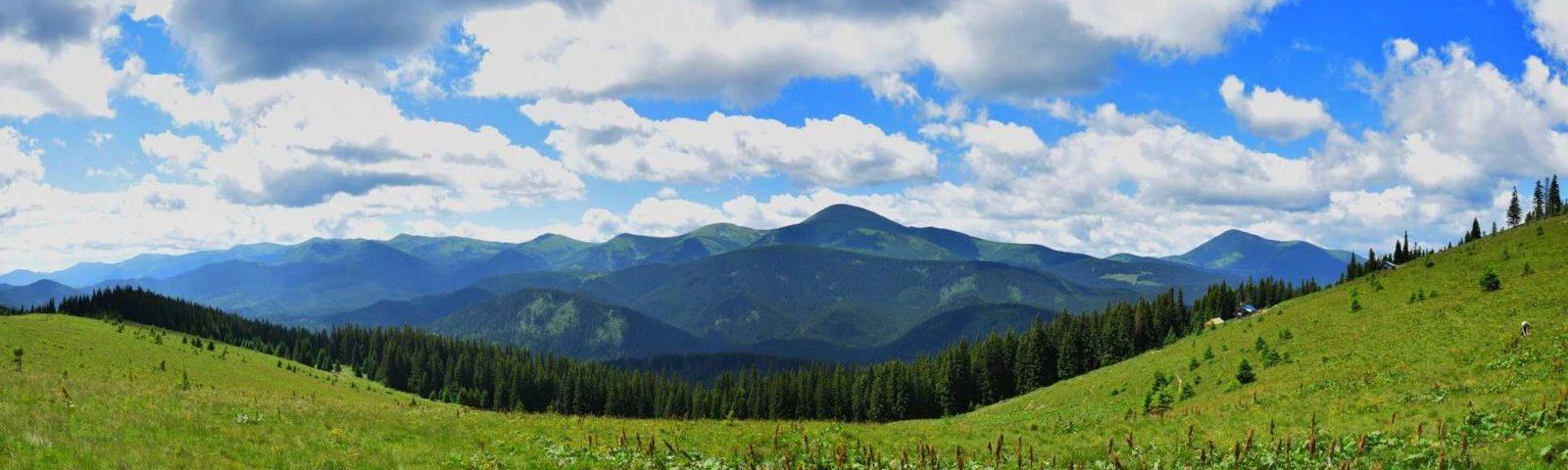 Черногорский хребет маршрут похода